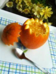 盐蒸橙子的做法步骤6