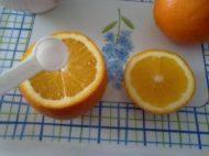 盐蒸橙子的做法步骤3