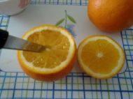 盐蒸橙子的做法步骤4