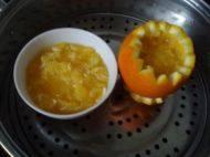盐蒸橙子的做法步骤5