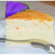 酸奶蛋糕(6寸)的做法