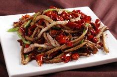 干煸茶树菇的做法大全