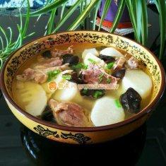 山药炖鸭汤的做法