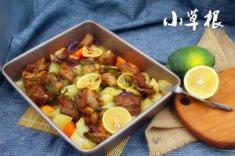 宴客菜推荐:杂蔬烤排骨的家常做法