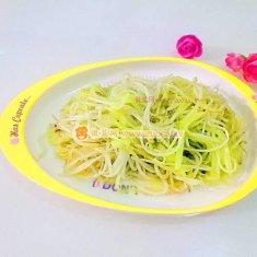 清炒绿豆芽的做法