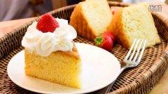 经典海绵蛋糕的做法视频