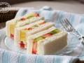 水果奶油三明治的做法视频