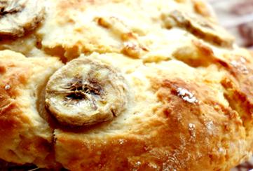 优格香蕉苏打面包的家常做法