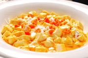 美味蟹粉豆腐的做法视频