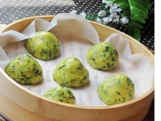 绿菜馒头的做法视频