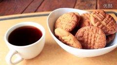 花生酱做曲奇(Peanut Butter Cookies)的做法视频
