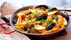 西班牙海鲜饭的做法视频