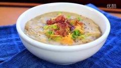 秋季暖身的土豆浓汤(Potato Soup)的做法视频