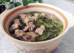 西洋菜鲜鸭肾煲猪骨汤的做法视频