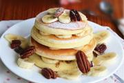 香蕉松饼的做法视频