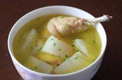 冬瓜鸡肉汤的做法视频