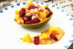 北极甜虾沙拉芒果碗的家常做法