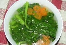 家常青菜汤的做法视频