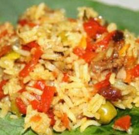 印度咖喱鸡肉手抓饭的家常做法