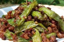干煸豇豆的做法