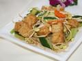 油豆腐炒豆芽的做法视频