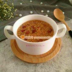 黄米红芸豆粥的做法