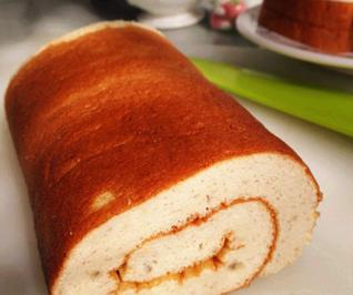 香蕉蛋糕卷的家常做法