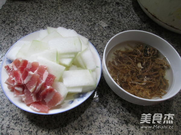 笋干菜咸肉煮冬瓜的做法