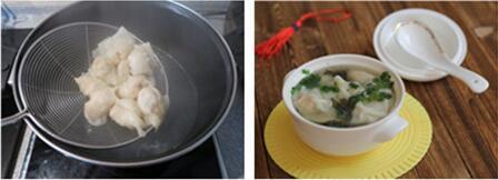 鲜虾鸡汤馄饨的做法步骤12