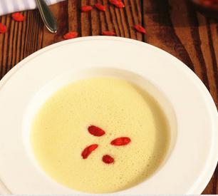 糯米枸杞豆浆的家常做法