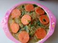 2至3岁宝宝辅食 火腿肠煮米粉的做法