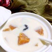 木瓜炖牛奶的做法