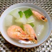 冬瓜炖虾的做法