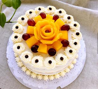芒果奶油蛋糕的家常做法