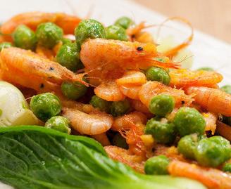 咸蛋黄炒小河虾的家常做法