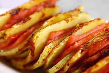 美味简易培根土豆夹的做法 怎么做外焦里嫩的土豆夹