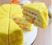 【芒果榴莲千层蛋糕】芒果榴莲千层蛋糕的食用价值_怎么挑选芒果和榴