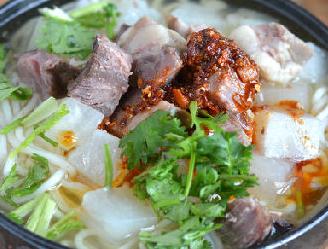 冬天最爱的羊肉萝卜汤面的家常做法