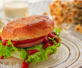 汉堡三明治的家常做法