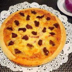 牛肉粒洋葱披萨的做法
