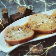 滋补红糖糯米藕的做法