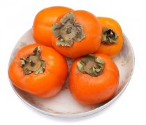 【柿子怎么去皮】柿子的功效与作用_柿子的热量_柿子不能和什么一起吃