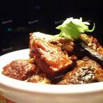 红烧牛肉炖树菇