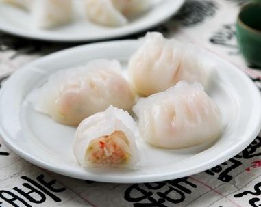 鳕鱼水晶虾饺的家常做法
