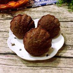 巧克力玛德琳蛋糕(玉米油版)的做法
