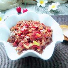 蔬菜杂酱的做法