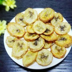 烤香蕉片的做法
