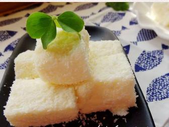 椰蓉奶香小方块的家常做法