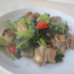 排骨炖苔菜