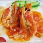 家庭西餐蒜蓉百合香辣虾